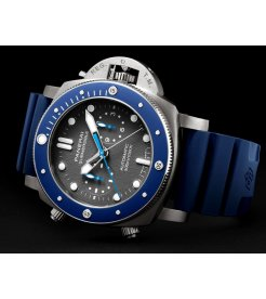 Panerai [NEW] PAM 982 Submersible Chrono Guillaume Nery Edition (Retail:HK$147,000)