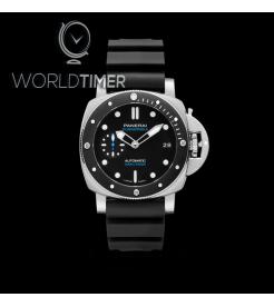 Panerai [NEW] PAM 683 Luminor Submersible 42mm 3 Days Automatic Acciaio Black Ceramic (Retail:HK$73,900)
