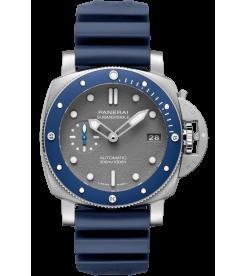 Panerai [NEW] PAM 959 Luminor Submersible 42mm 3 Days Automatic Acciaio Blue (Retail:HK$73,900)