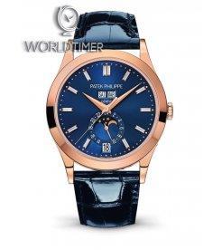 Patek Philippe [NEW] Complications 5396R-015 Annual Calendar RG Blue Dial Watch