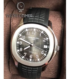 "Patek Philippe ""Tiffany & Co."" [NEW] Aquanaut Black Dial Steel Mens 5167A"
