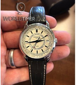 "Patek Philippe ""Tiffany & Co."" [NEW] 5212A Calatrava Weekly Calendar 40mm Automatic Mens Watch"