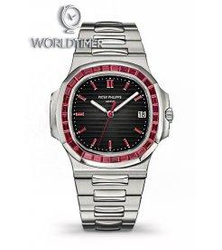 Patek Philippe [NEW] Nautilus Ruby 5711/112P Platinum Automatic Mens Watch