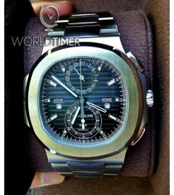 "Patek Philippe ""Tiffany & Co."" [NEW] Nautilus Travel Time Chronograph 5990/1A"