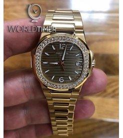 Patek Philippe [NEW] Ladies Nautilus Rose Gold Brown Dial7010/1R-012