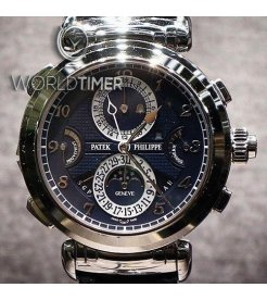 Patek Philippe [NEW MODEL] Grand Complications Grandmaster Chime Blue Dial 6300G-010