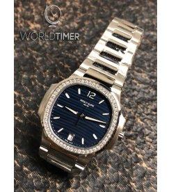Patek Philippe [2019 NEW MODEL] Nautilus Ladies Steel Blue Dial 7118/1200A