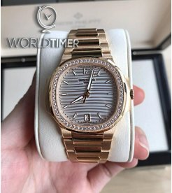 Patek Philippe [NEW] Nautilus Ladies 7118/1200R Rose Gold Automatic