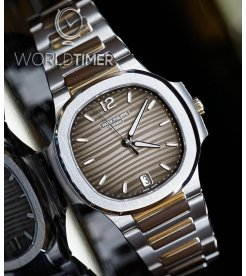 Patek Philippe [NEW] Nautilus Ladies 7118/1A Grey Dial Steel Automatic