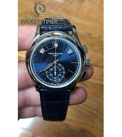 Patek Philippe [NEW] Annual Calendar Chronograph 5905P Blue Dial (Retail:HK$585,600)