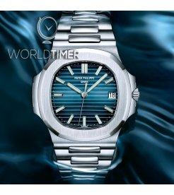Patek Philippe [NEW] Nautilus In Acciaio 5711/1A Blue Dial Watch