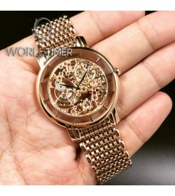 Patek Philippe [NEW][CAN NAME][可寫名] Rose Gold Calatrava Skeleton 5180/1R