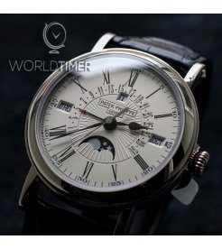 PATEK PHILIPPE [NEW] 5159G 18K WHITE GOLD PERPETUAL CALENDAR MOON PHASE (Retail:HK$707,000)