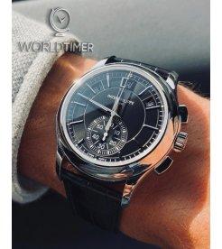 Patek Philippe [NEW] Annual Calendar Chronograph 5905P Black Dial Mens (Retail:HK$585,600)