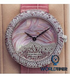 Patek Philippe [NEW] Ladies Calatrava 4899/900G-001 White Gold Watch (Retail:HK$763,900)