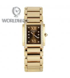 Patek Philippe [NEW] 4910/11R-010 Brown Dial Twenty~4 Rose Gold Ladies Watch (Retail:HK$313,200)