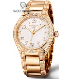 Patek Philippe [NEW] Twenty 4 Rose Gold Diamonds 36mm Ladies 7300/1201R