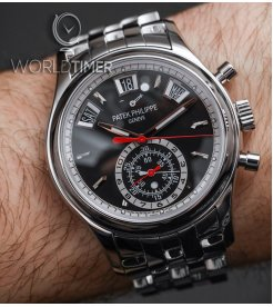 PATEK PHILIPPE [NEW] 5960/1A EBONY BLACK OPALINE DIAL AUTOMATIC - SOLD!!
