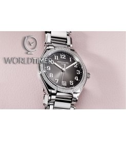 Patek Philippe [NEW] Twenty 4 Steel & Diamonds 36mm 7300/1200A Grey Dial