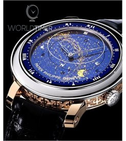 Patek Philippe [2012 USED] Celestial Mens Platinum and Rose Gold Watch 5102PR