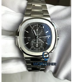 Patek Philippe [2019 NEW] Nautilus Travel Time Steel Chronograph 5990/1A