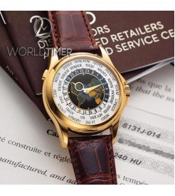 "Patek Philippe [NEW] 5131J-014 ""Putin Patek"" Enamel Cloisonné World Timer Special Edition"