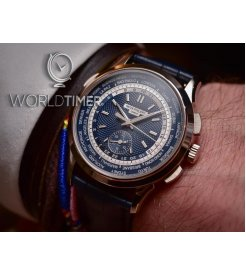 Patek Philippe [NEW] 5930G World Time Chronograph Mens Watch