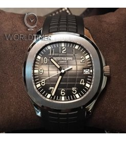 Patek Philippe [NEW] Aquanaut Black Dial Steel Mens 5167A-001