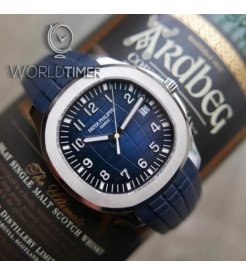 PATEK PHILIPPE [NEW] Aquanaut Blue Dial Automatic Mens 5168G