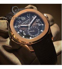 Patek Philippe [NEW] Aquanaut Travel Time 5164R-001 (Retail:HK$381,900)