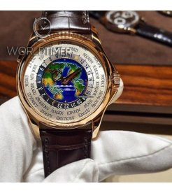 Patek Philippe [NEW-ARRIVAL] World Time Ename Dial 5131R