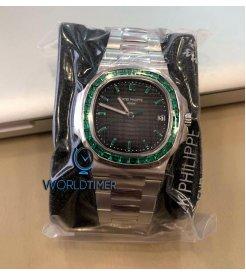 Patek Philippe [NEW][LIMITED 5 PIECE] 5711P Nautilus Platinum Watch