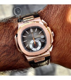 Patek Philippe [New] Nautilus 5980RRose Gold Chronograph Automatic Mens Watch