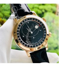 Patek Philippe [NEW][SPECIAL] Celestial Rose Gold Mens Watch 6102R (Retail:HK$2,121,900)