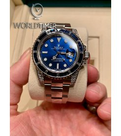 Rolex [NEW] Submariner Date 116659SABR Diamond Sapphire All Blue Dial