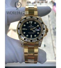Rolex [NEW] GMT-Master II Bezel Diamond & Sapphire 116758SANR
