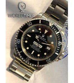 "Rolex ""COMEX"" Sea-Dweller 16600 with Original COMEX Paper"
