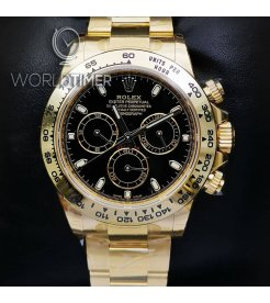 Rolex [NEW] Cosmograph Daytona 116508 Black Index Dial Yellow Gold Watch