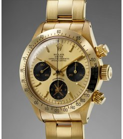 "Rolex Cosmograph Daytona 6265 ""Gold Khanjar"" Middle-East Edition"