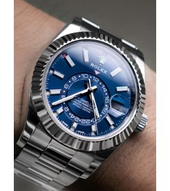 Rolex [NEW 2017 MODEL] Sky-Dweller 326934 Blue Dial Watch
