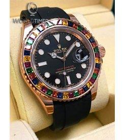 Rolex NEW-全新 116695 SATS Yacht-Master Diamond Bezel Watch