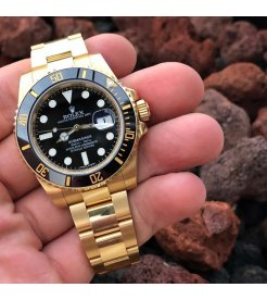 Rolex [NEW] Oyster Perpetual Submariner Date 116618LN Black Dial (Retail:HK$278,600)