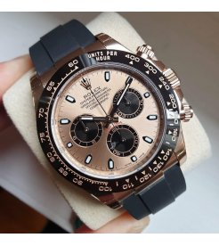 Rolex [NEW] Cosmograph Daytona Everose Gold 116515LN Pink Dial Watch
