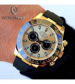 Rolex [NEW] Cosmograph Daytona116518LN 余文樂Champagne 40mm Watch