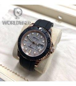 Rolex [NEW] 116655 New 2018 Yacht Master Pave Diamond 40mm Mens Watch