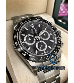 Rolex [NEW]Daytona 116500 Black Dial Cerachrom Black Bezel