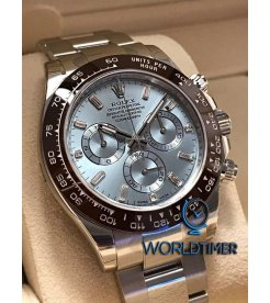 Rolex [NEW] Daytona Ice Blue Platinum Diamond 116506A (Retail:HK$632,500)