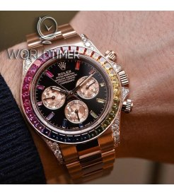 Rolex [NEW] Everose Gold Daytona Rainbow 116595RBOW