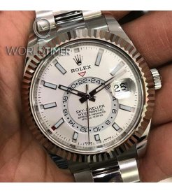 Rolex NEW-全新-香港行貨 Sky Dweller 42mm 326934 White Index watch