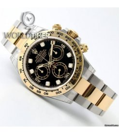 Rolex [NEW][香港行貨] 116503G Black Dial with Diamonds Cosmograph Daytona Watch